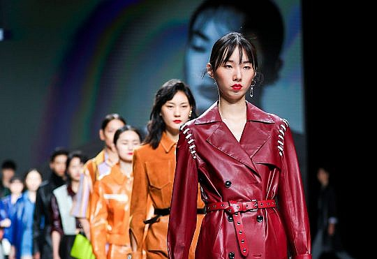 Throwback to the Forever Leather fashion show in Shanghai